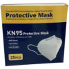 KN95 Protective Mask (25 PACK) Foldable